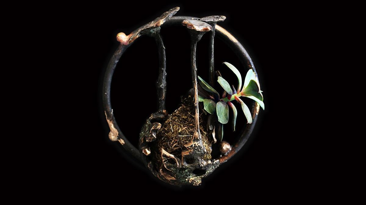 bronzeart, art, verticalgarden