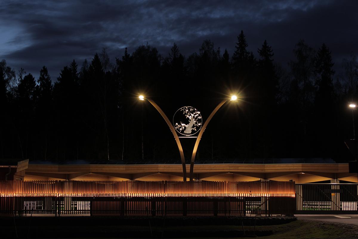 aluminum, sculpture, comission art